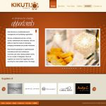 Kikuti Events website