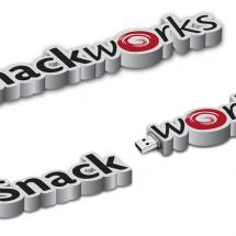 snackworks custom USB